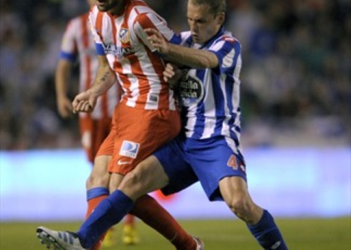 Club Atletico de Madrid - RC Deportivo de La Coruna (Football. Primera)
